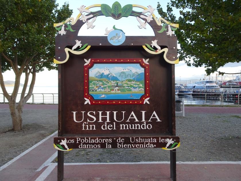 Cartel Ushuaia